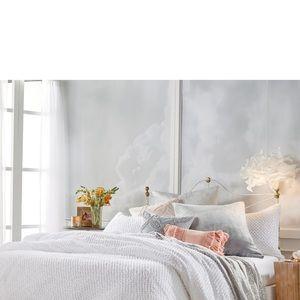 Dot Fringe Comforter & Sham Set PERI HOME NWT